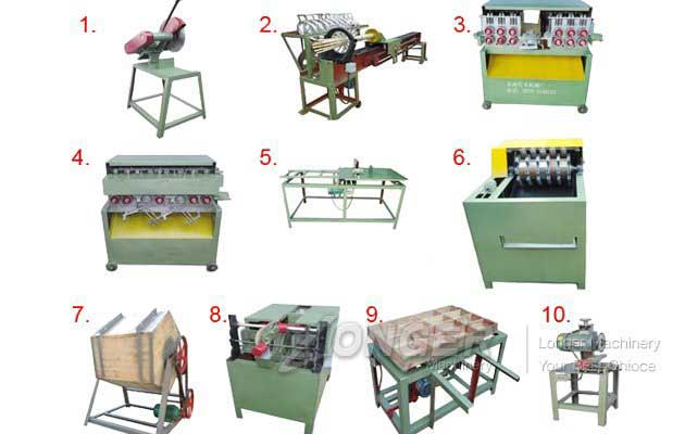 Bamboo Toothpicks Machine|Toothpicks Production Machinery
