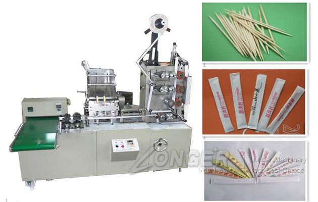 Automatic Paper Wrapped Toothpick Packaging Machine