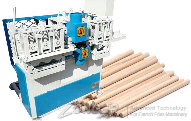 Wood Rod Rounding Machine|Wooden Broom Handle Machine LGBM202