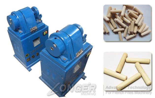 Diagonal Wood Plug Making Machine|Wood Nog Cutting Machine