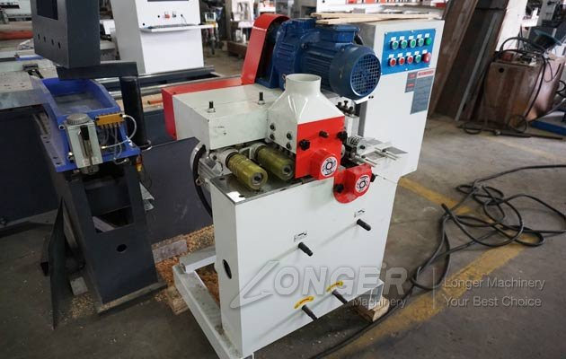 wood rounding machine