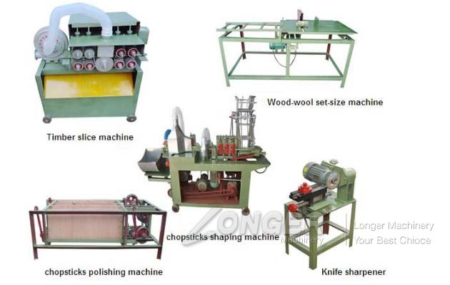 Wooden Chopsticks Making Machine