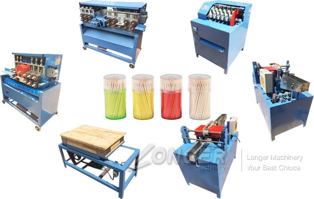 Toothpick Making Production Line