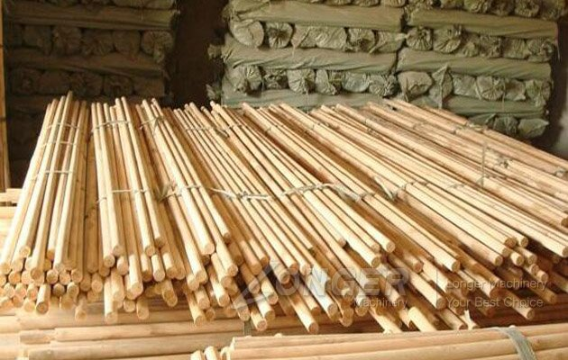 wood round sticks making machine price