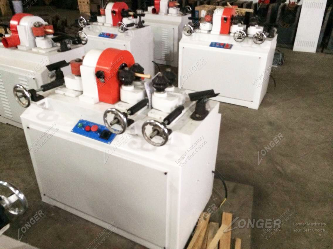 wood broom handle machine