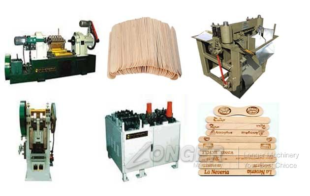 wood tongue depressor machine
