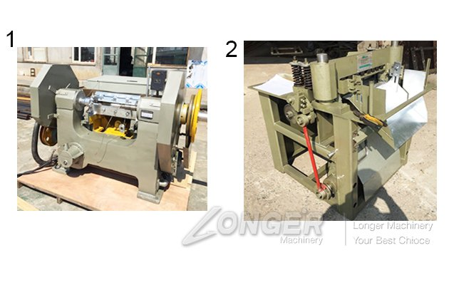 Machine for manufacturing tongue depressor