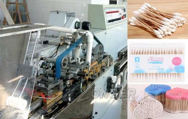 cotton swab manufacturing machine