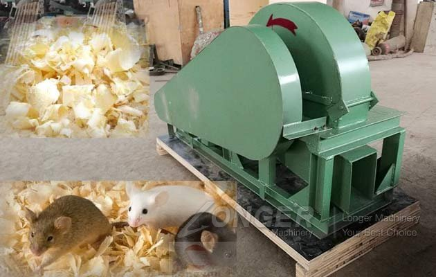wood shavings mill machine