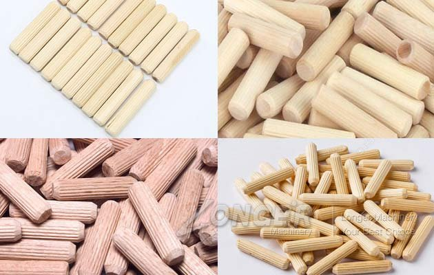wood dowel rod making machine