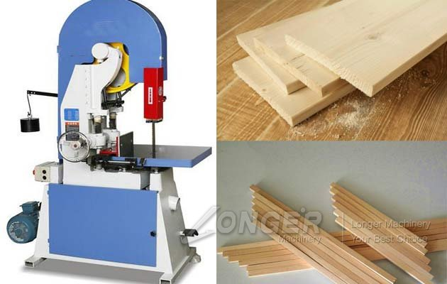 wood band saw machine