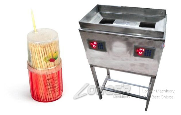 toothpick filling machine for plastic containers