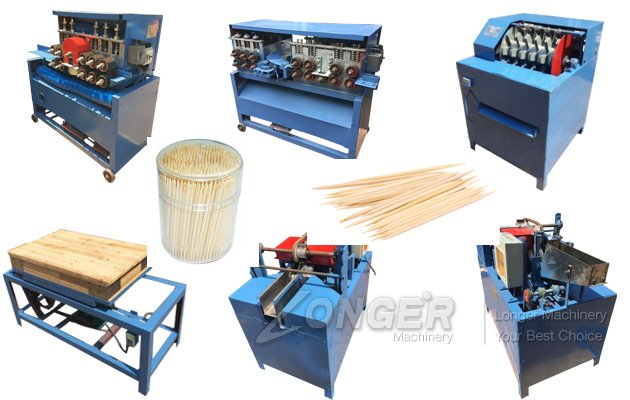 Wood Toothpick Production Line